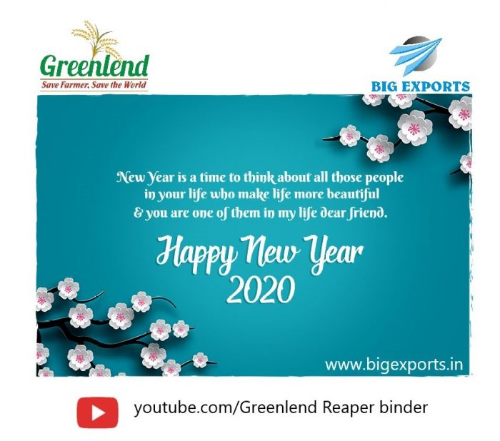 Happy New Year 2020 : BigExports Reaper Binder News Events